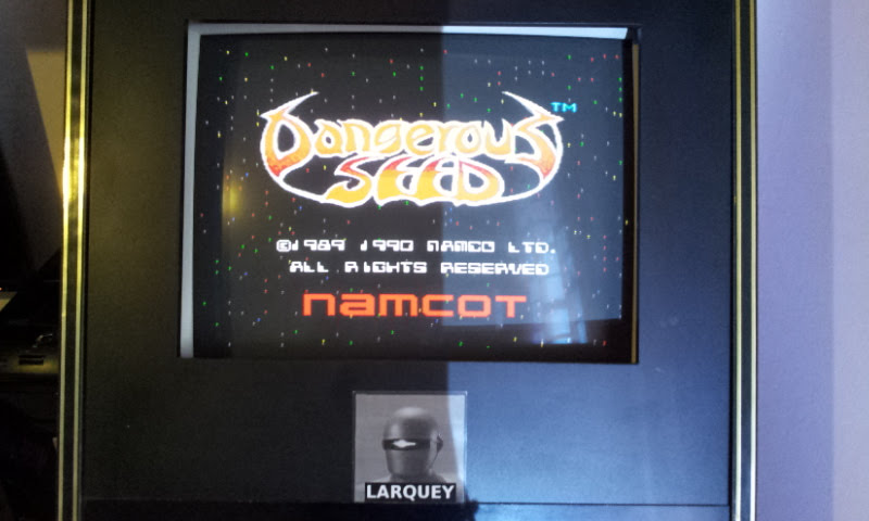 Larquey: Dangerous Seed [Normal] (Sega Genesis / MegaDrive Emulated) 256,800 points on 2018-01-26 07:18:50
