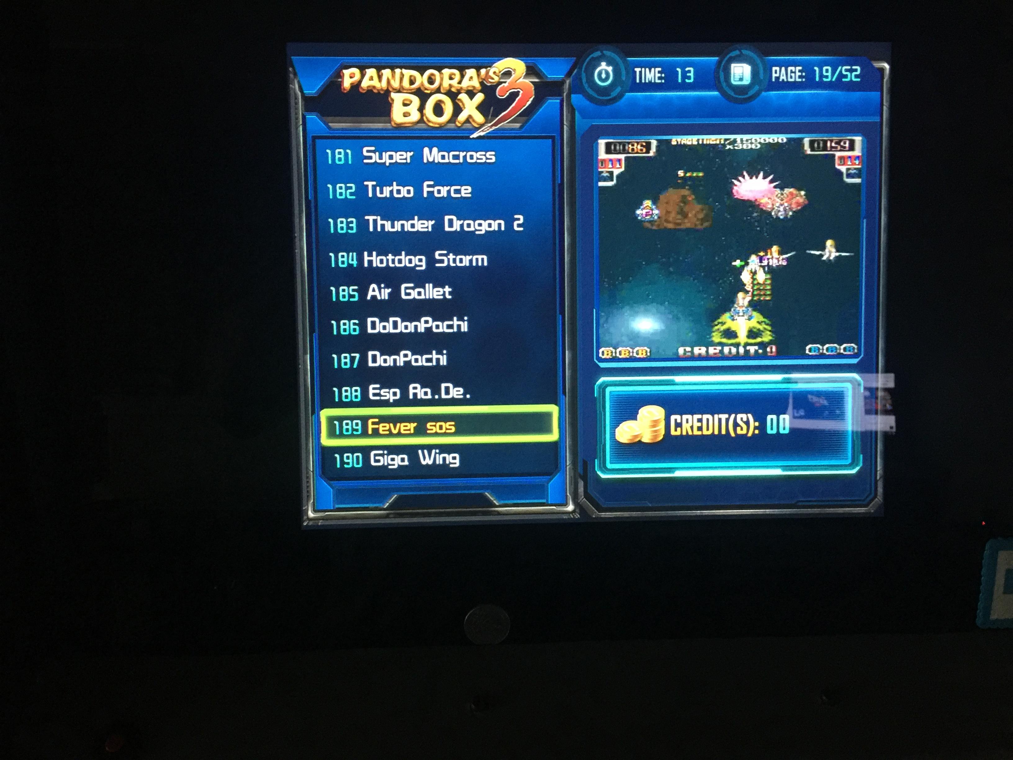 derek: Dangun Feveron / Fever SOS (Jamma Pandora
