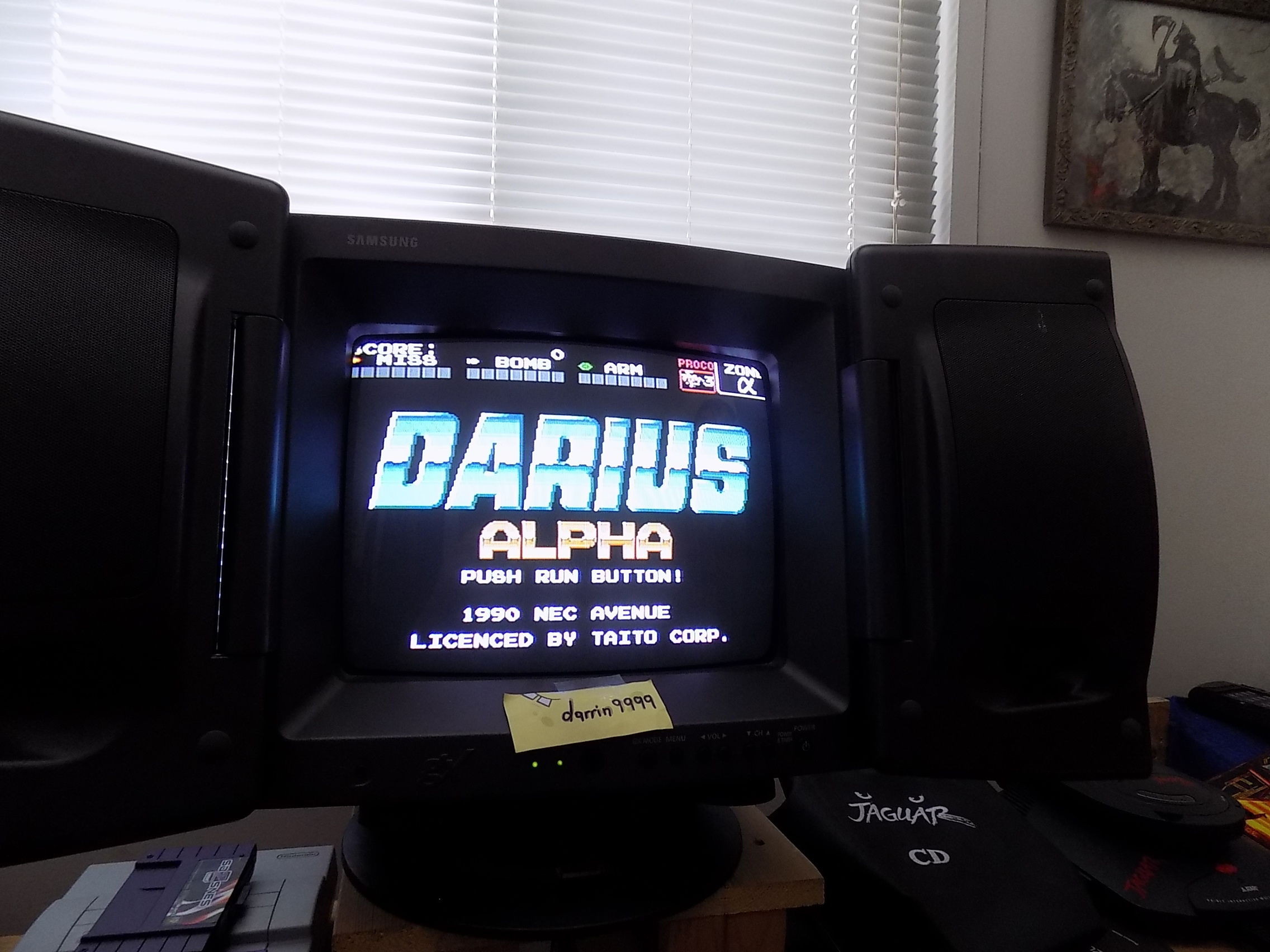 darrin9999: Darius Alpha (TurboGrafx-16/PC Engine) 166,300 points on 2019-01-20 10:06:30