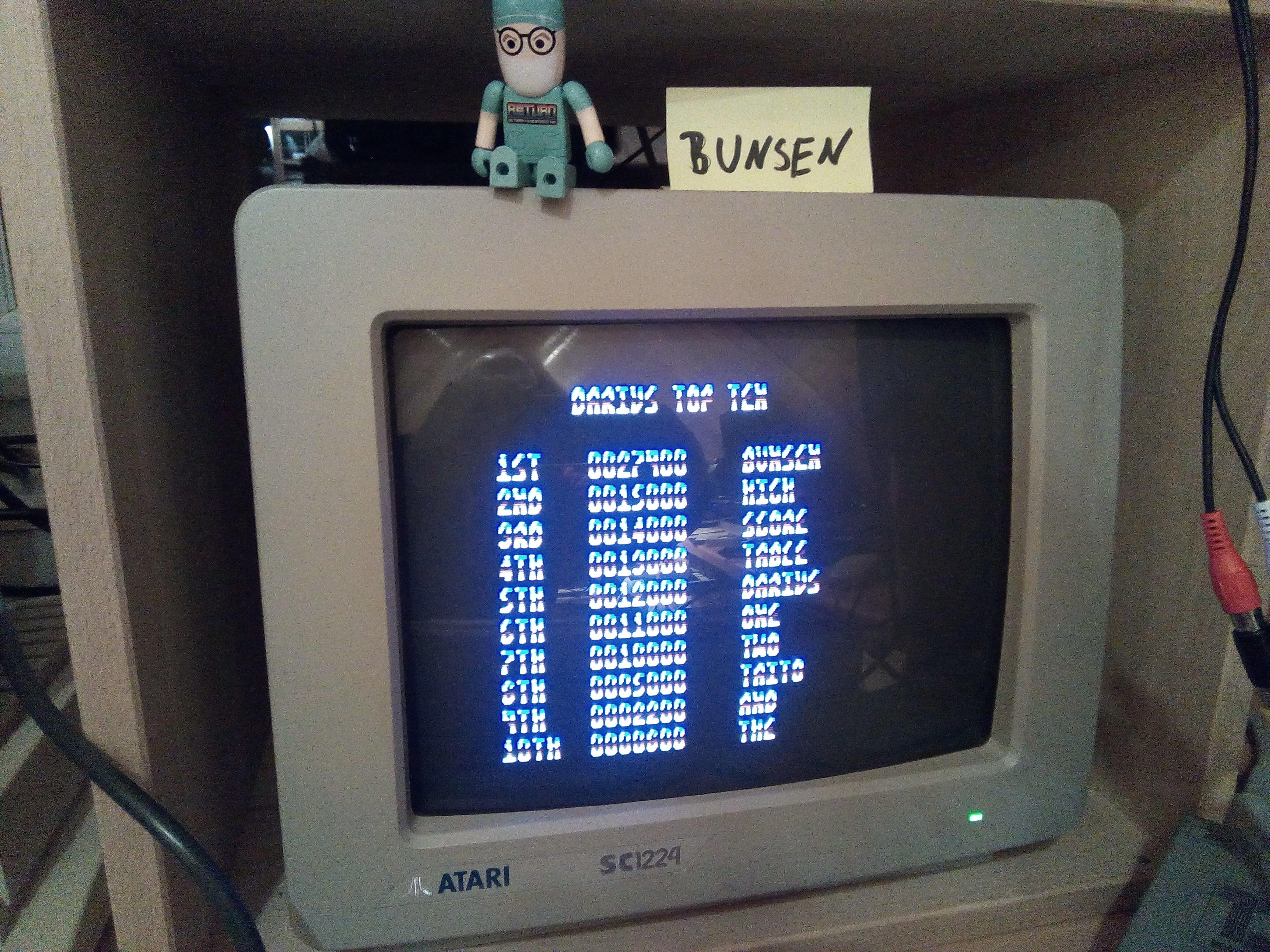 Bunsen: Darius+ (Atari ST) 27,400 points on 2017-10-26 16:18:15