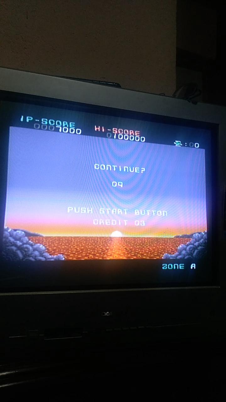 Sdrgio797: Darius Force [Hard / 3 Lives] (SNES/Super Famicom Emulated) 7,000 points on 2020-07-29 10:16:20