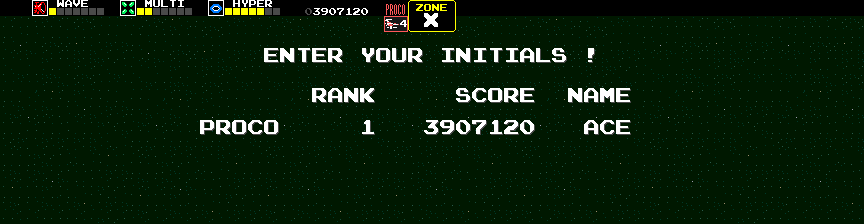 Dumple: Darius [darius] (Arcade Emulated / M.A.M.E.) 3,907,120 points on 2018-02-04 10:57:31