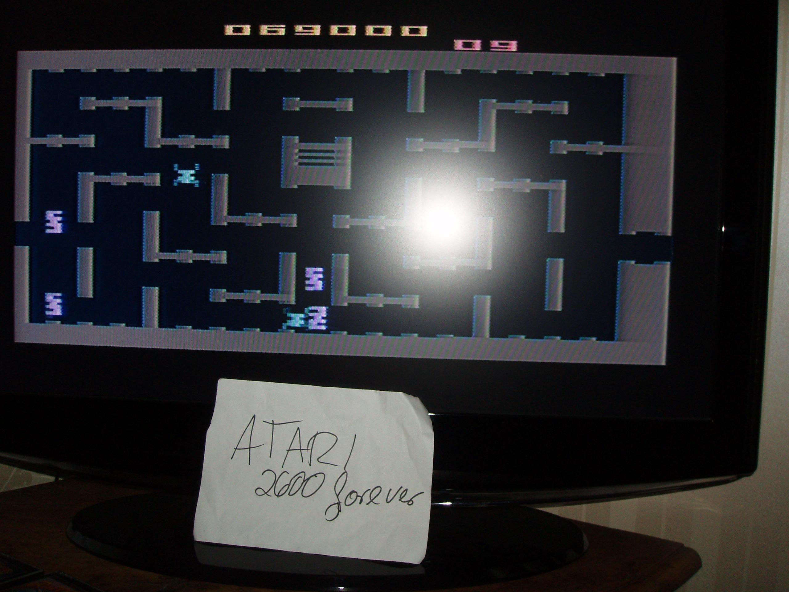 atari2600forever: Dark Cavern (Atari 2600) 69,000 points on 2018-11-05 03:16:43