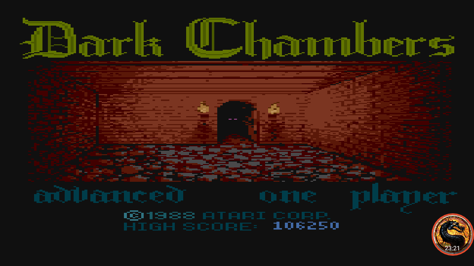 omargeddon: Dark Chambers: Advanced (Atari 400/800/XL/XE Emulated) 106,250 points on 2019-02-21 19:55:01