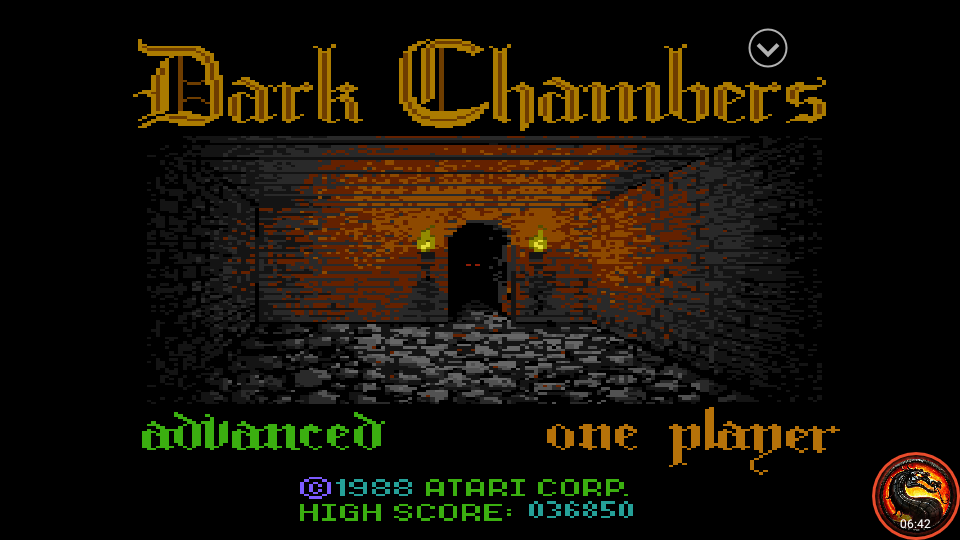 omargeddon: Dark Chambers: Advanced (Atari 7800 Emulated) 36,850 points on 2020-09-13 21:52:13