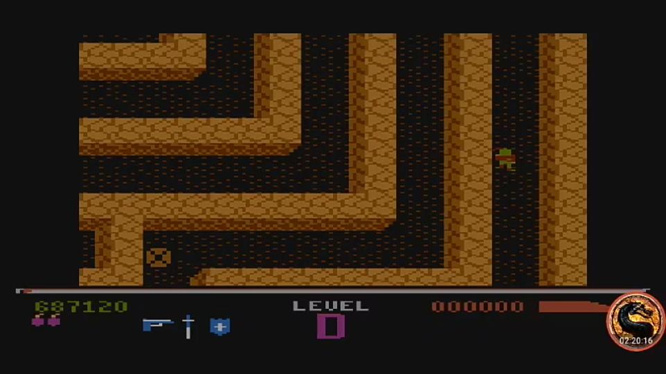 omargeddon: Dark Chambers: Beginner (Atari 400/800/XL/XE Emulated) 687,120 points on 2019-08-17 13:46:02
