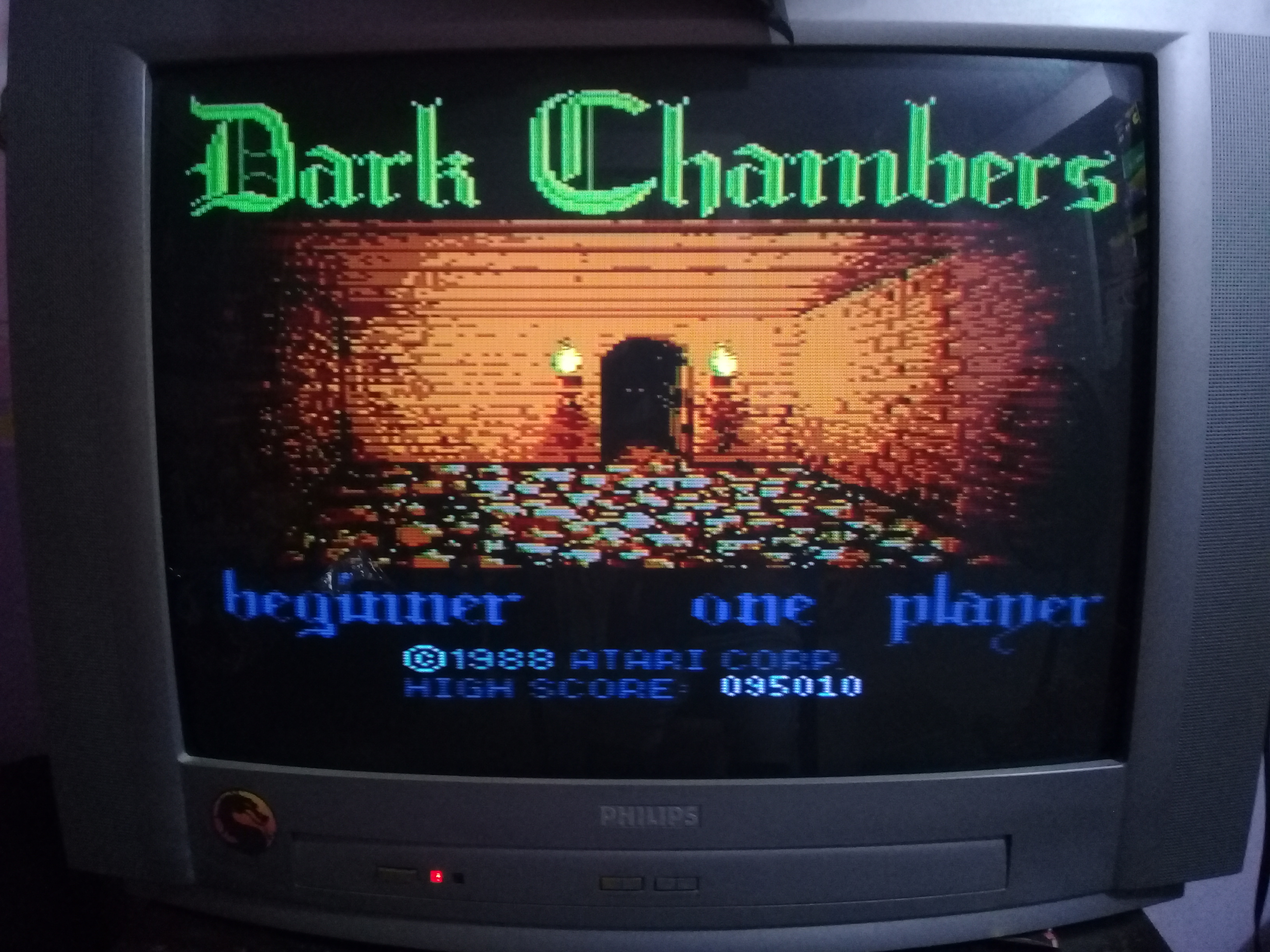 omargeddon: Dark Chambers: Beginner (Atari 400/800/XL/XE) 95,010 points on 2020-04-03 00:57:12