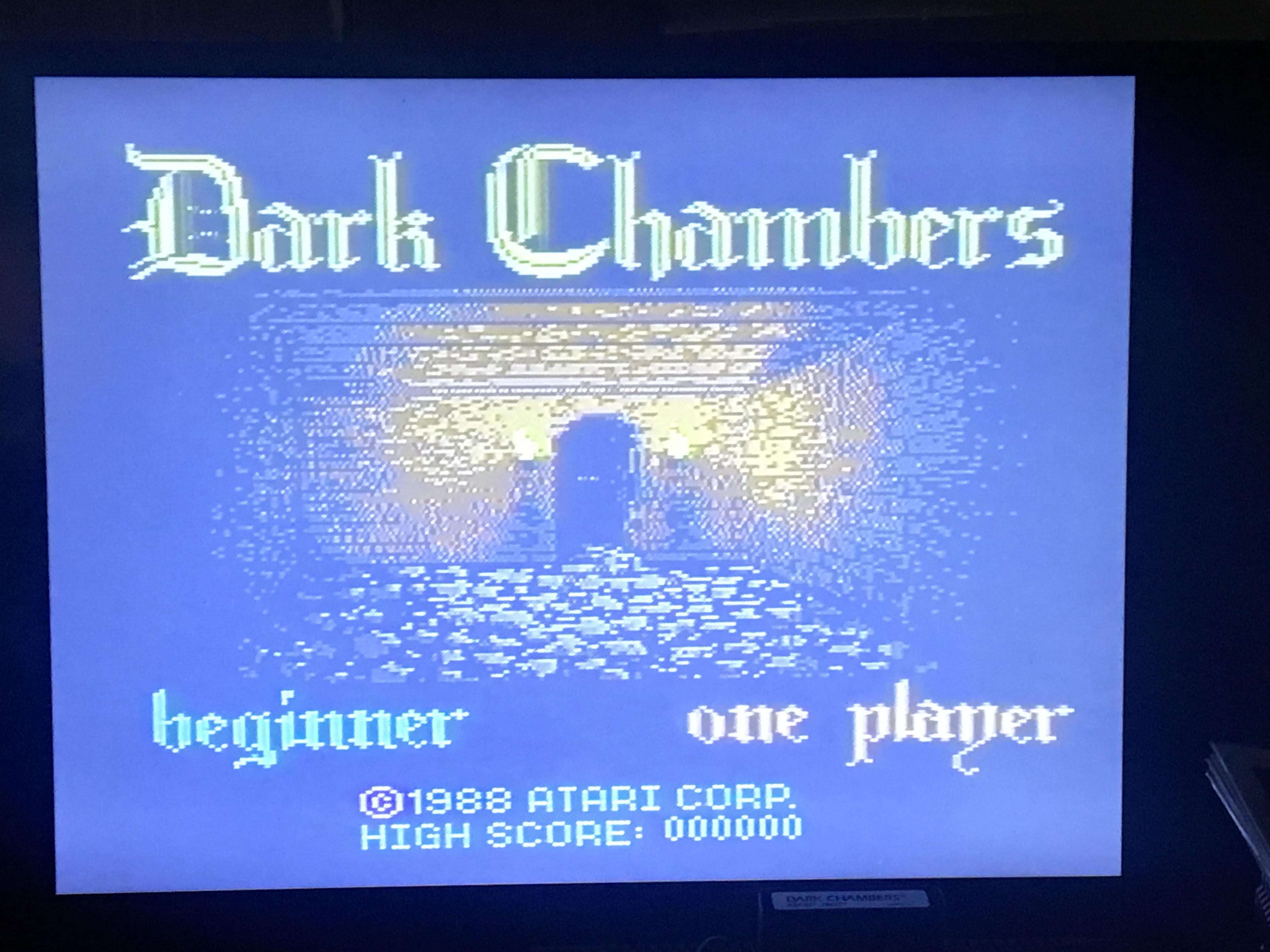 Dark Chambers: Beginner 675,000 points