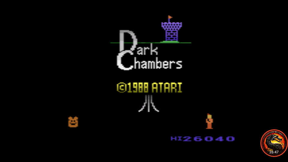 omargeddon: Dark Chambers [Skill Level: Low] (Atari 2600 Emulated) 26,040 points on 2020-01-14 21:22:18