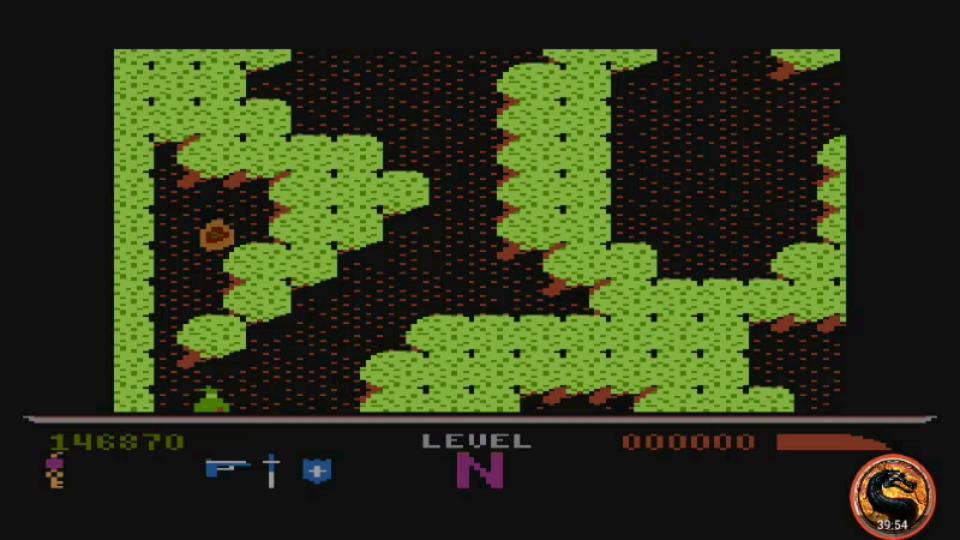 omargeddon: Dark Chambers: Standard (Atari 400/800/XL/XE Emulated) 146,870 points on 2019-02-15 13:01:46