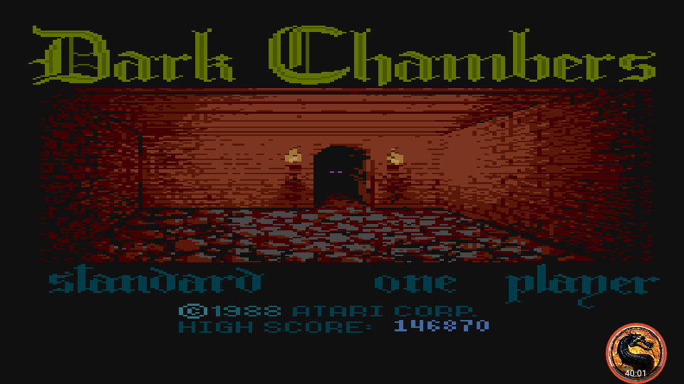 omargeddon: Dark Chambers: Standard (Atari 400/800/XL/XE Emulated) 146,870 points on 2019-02-15 13:01:46