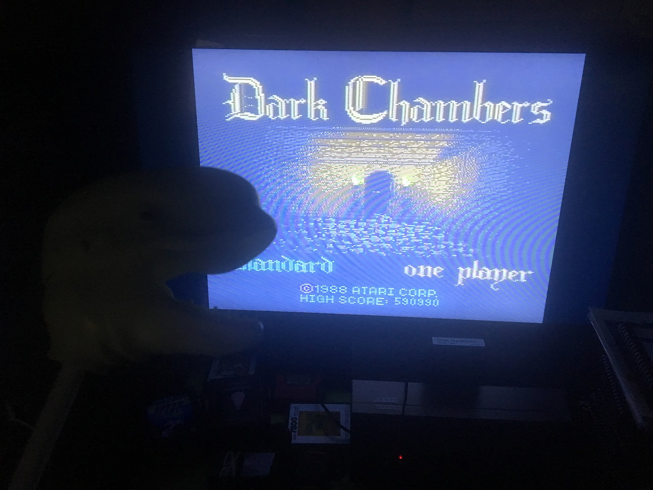 CousinVinnie: Dark Chambers: Standard (Atari 7800) 590,990 points on 2017-10-27 00:11:40