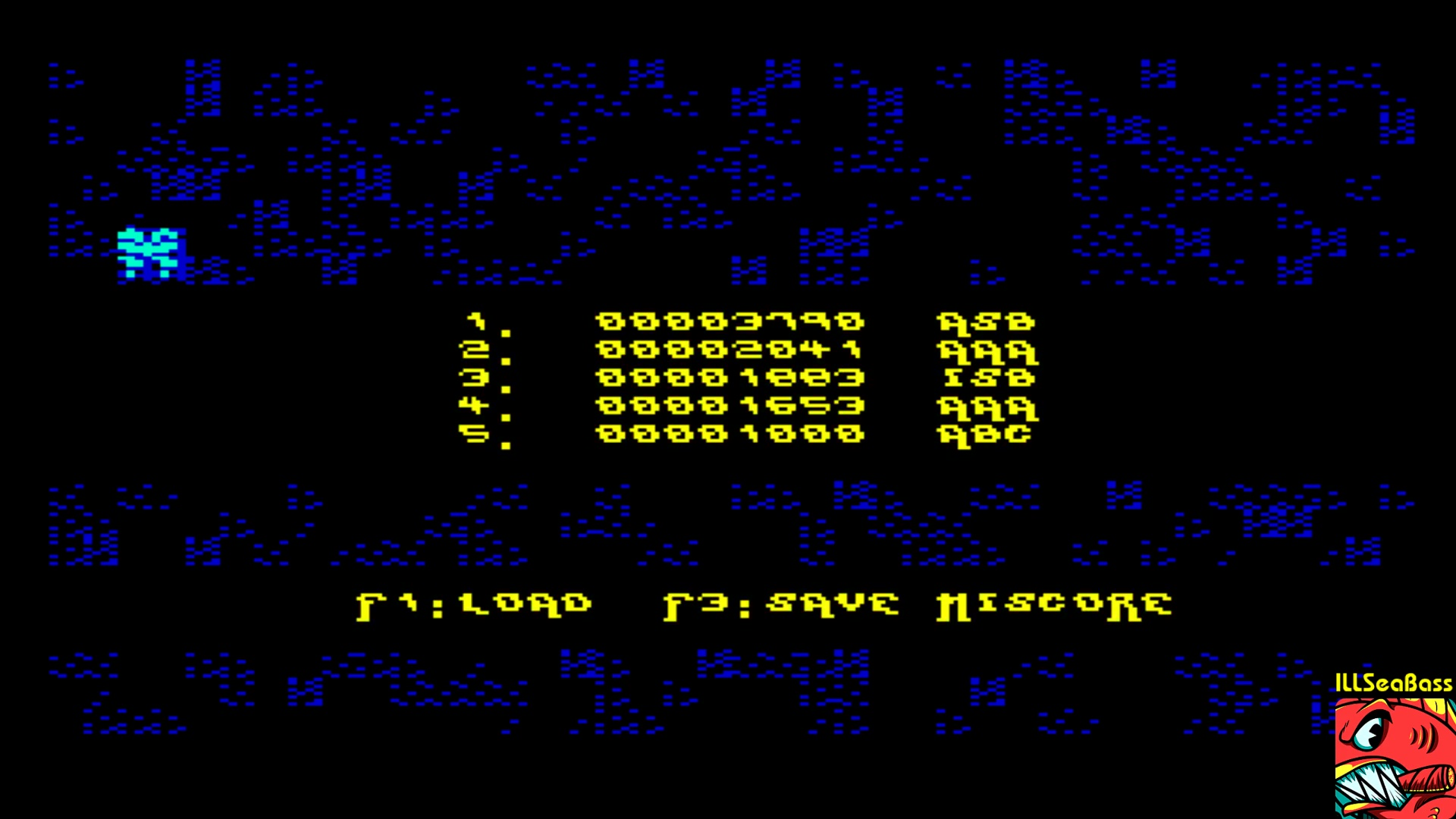 ILLSeaBass: Darkipede (Commodore 64 Emulated) 3,790 points on 2018-01-28 22:06:05