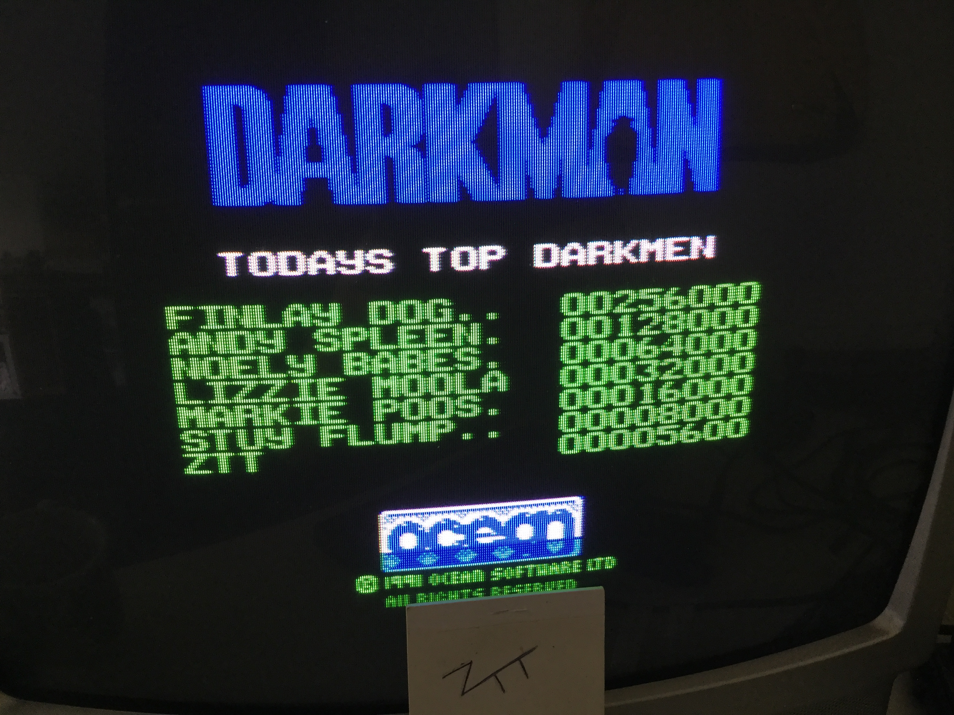 Frankie: Darkman [100,000 Points Completion Bonus] (ZX Spectrum) 5,600 points on 2019-06-02 05:35:25