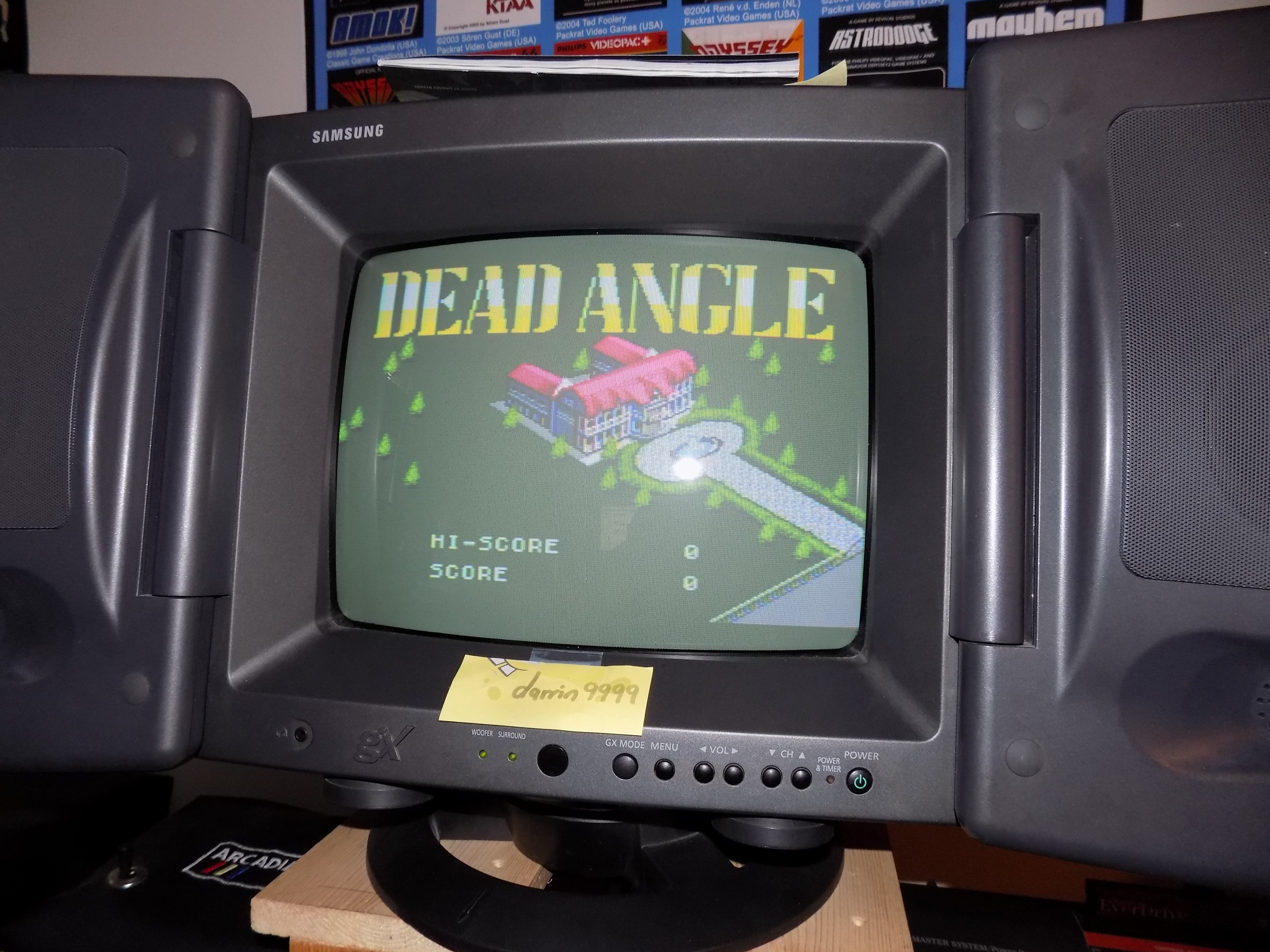 darrin9999: Dead Angle (Sega Master System) 14,100 points on 2017-01-24 23:28:45