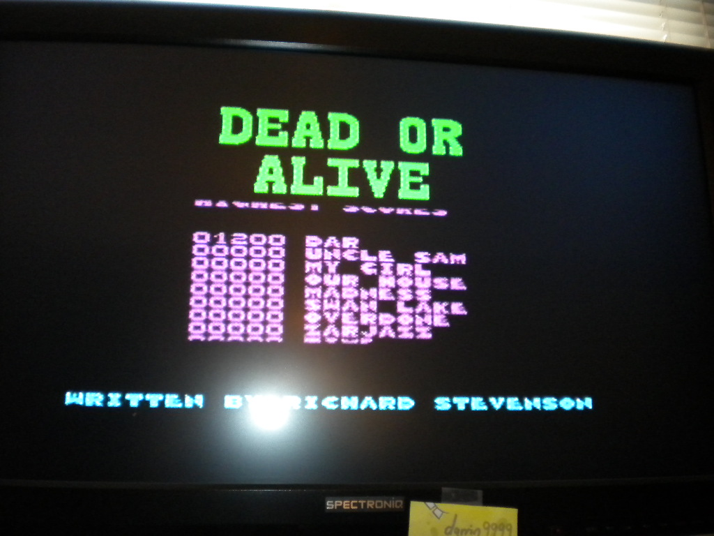 Dead Or Alive [Alternative Software] [Speed: Slow] 1,200 points