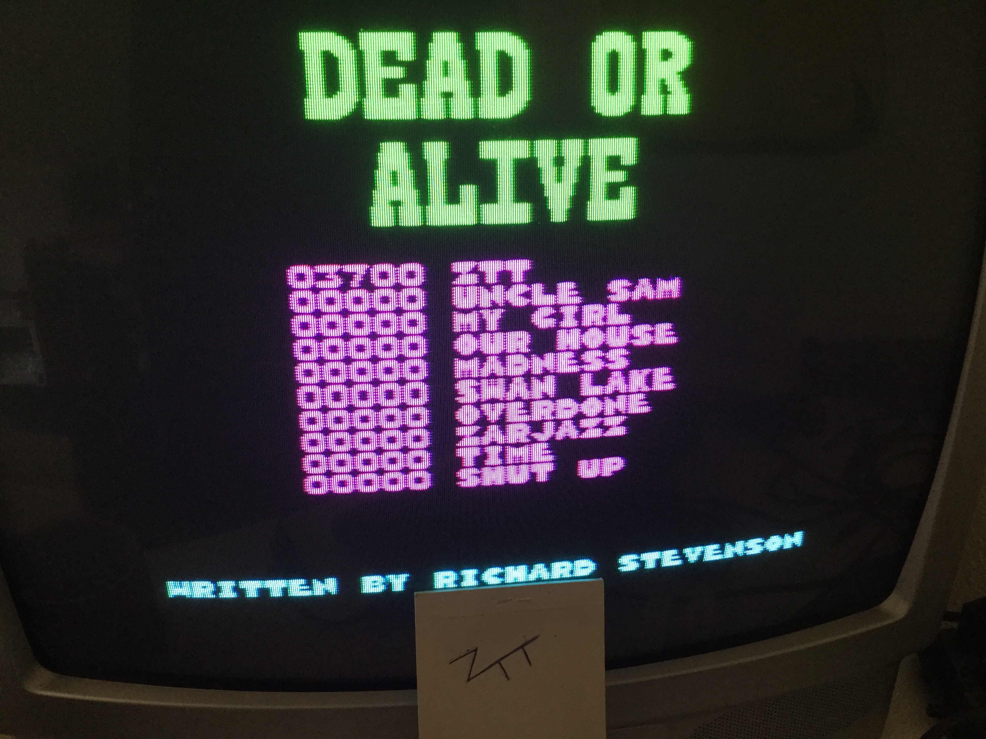 Dead Or Alive [Alternative Software] [Speed: Slow] 3,700 points