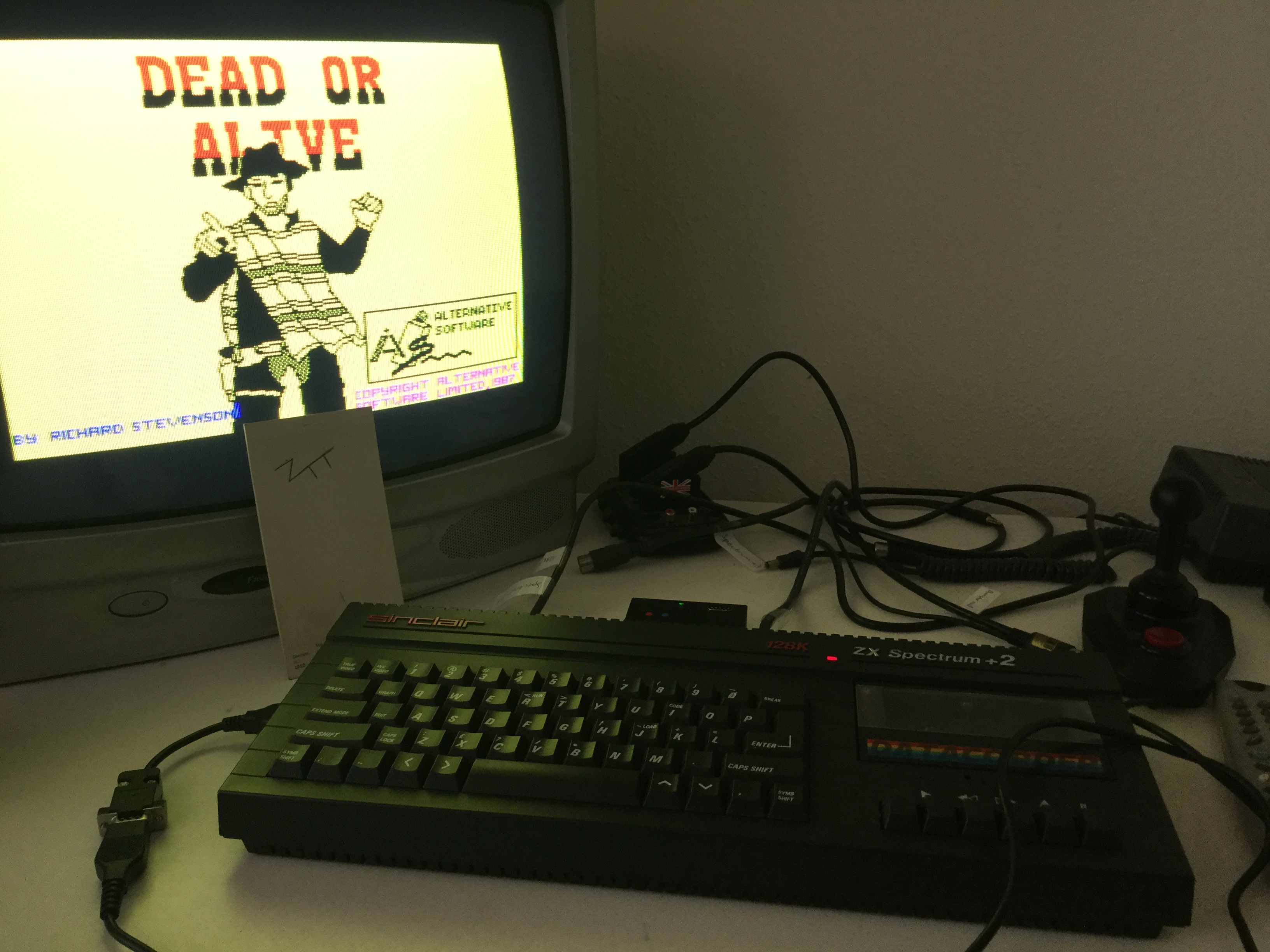 Frankie: Dead Or Alive [Alternative Software] [Speed: Slow] (ZX Spectrum) 3,700 points on 2019-06-15 05:38:41