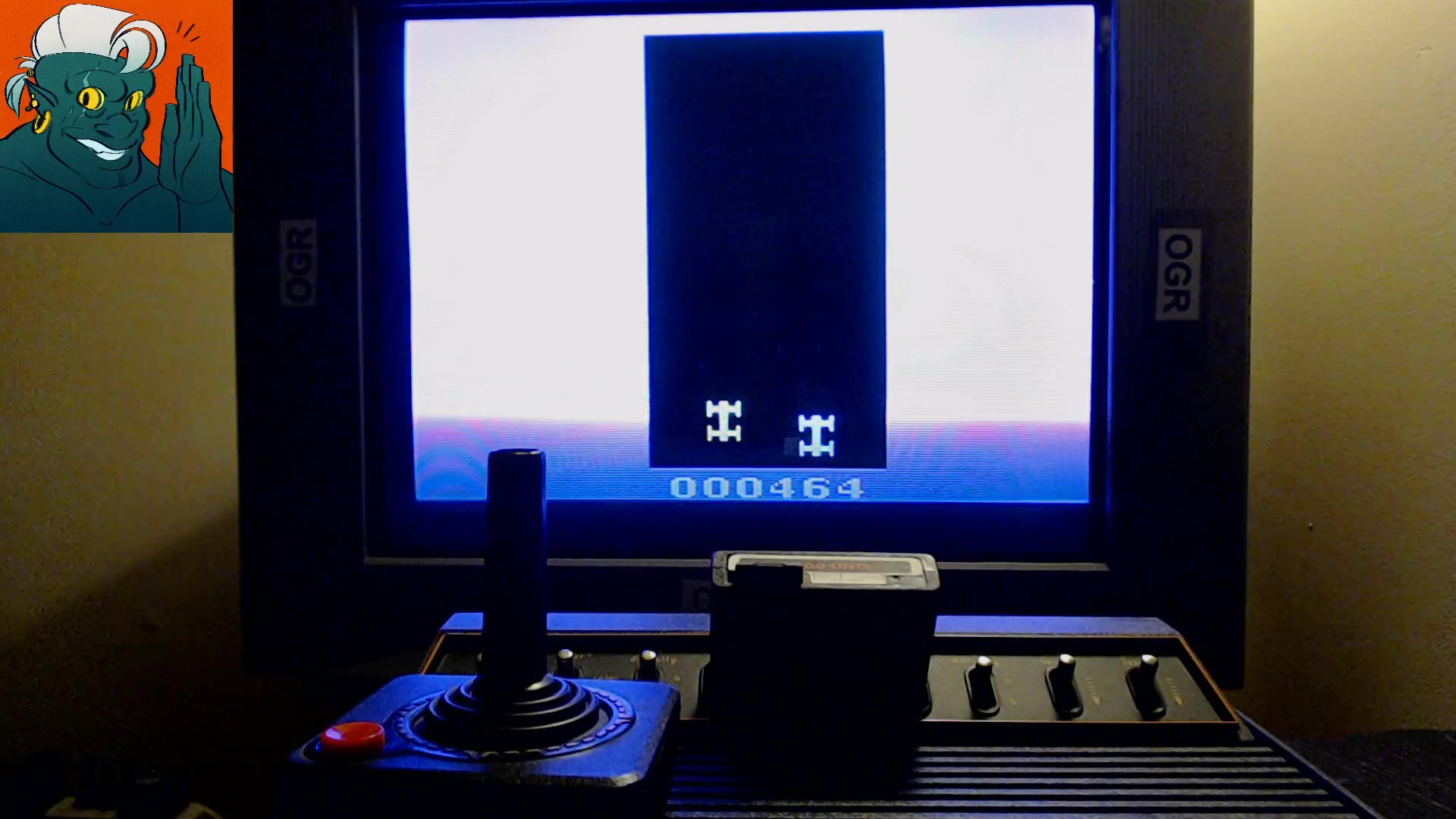AwesomeOgre: Dead Road (Atari 2600) 464 points on 2019-10-16 21:49:14