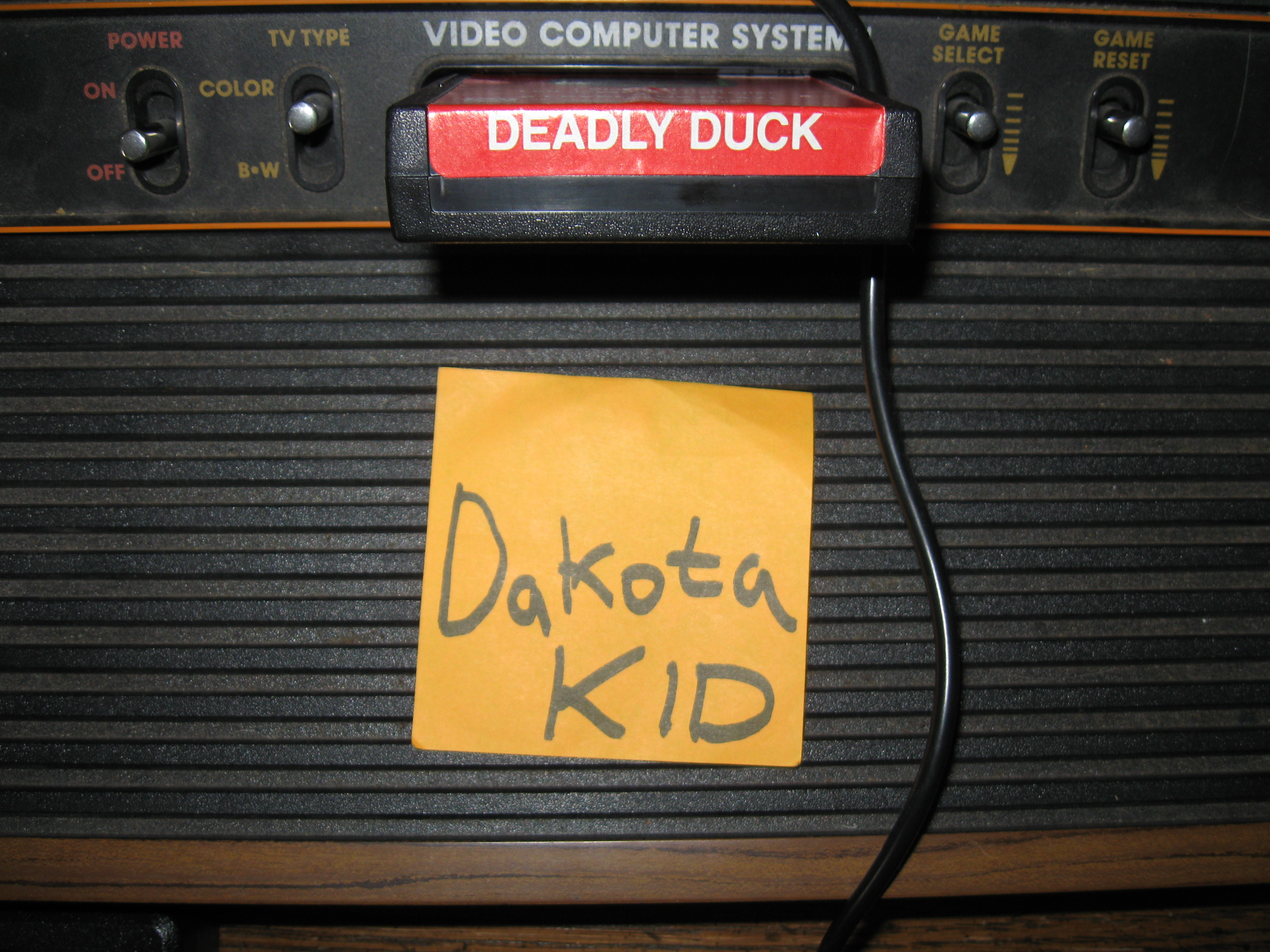 DakotaKid: Deadly Duck (Atari 2600 Novice/B) 31,460 points on 2016-02-22 14:22:11