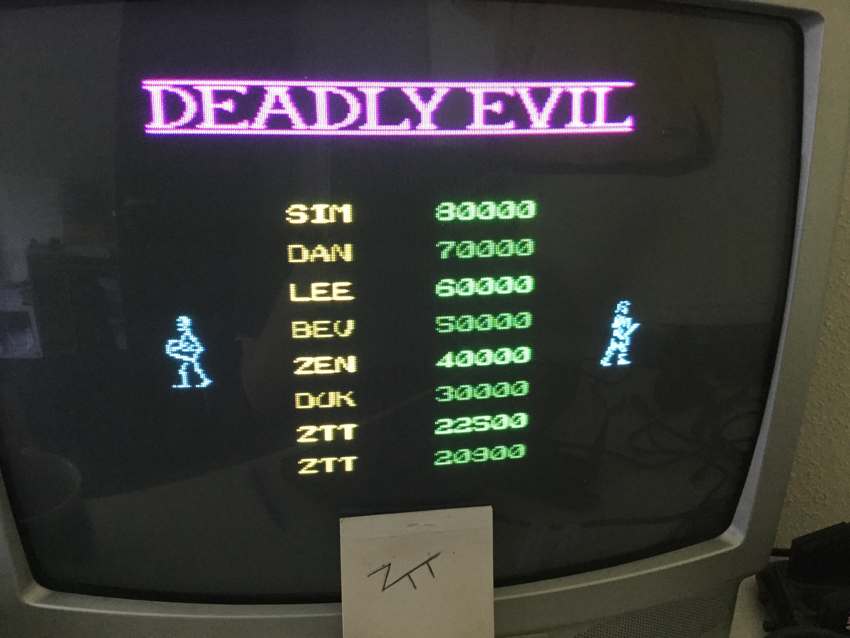 Frankie: Deadly Evil [100,000 Points Completion Bonus] (ZX Spectrum) 22,500 points on 2019-06-02 06:47:15