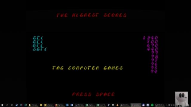 GTibel: Death Stalker [100,000 Points Completion Bonus] (ZX Spectrum Emulated) 1,340 points on 2019-01-22 06:17:27