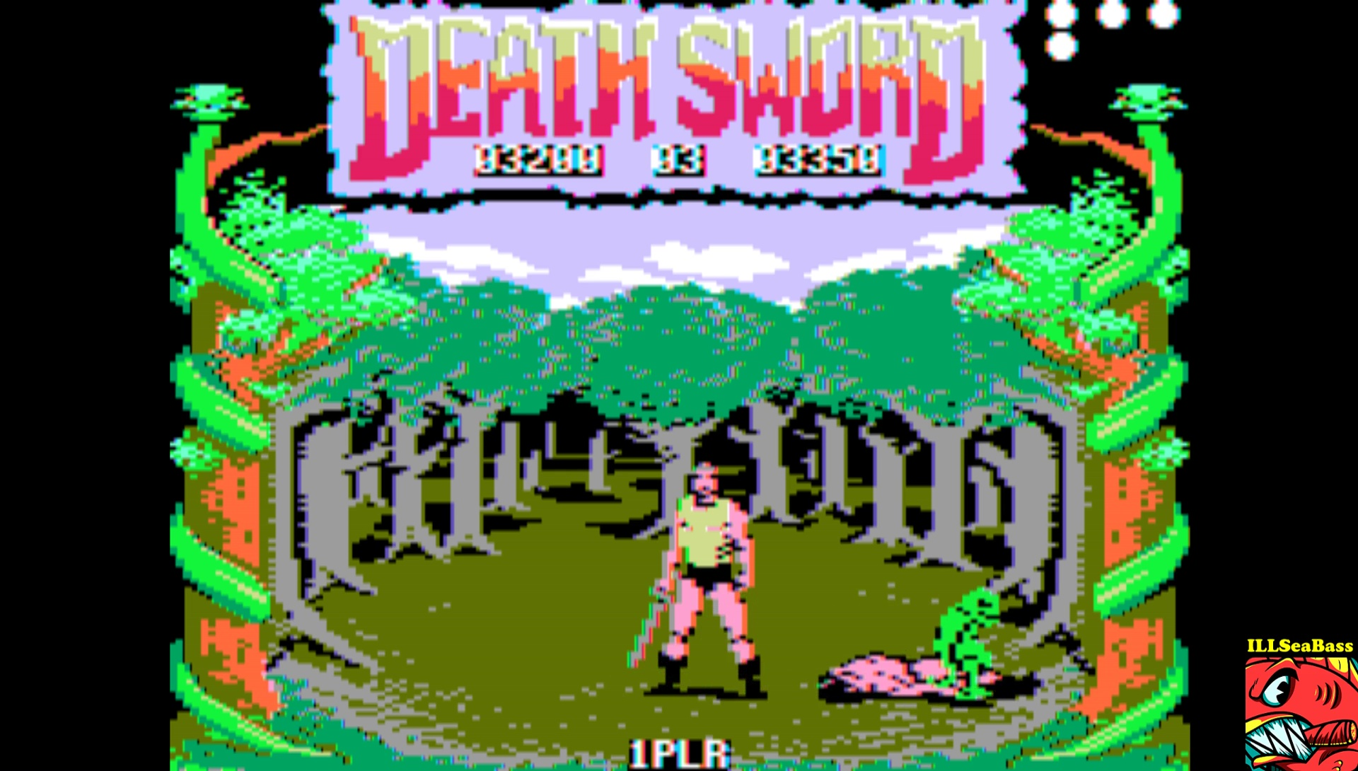 ILLSeaBass: Death Sword [Game 1] (Apple II Emulated) 3,200 points on 2017-03-17 21:01:56