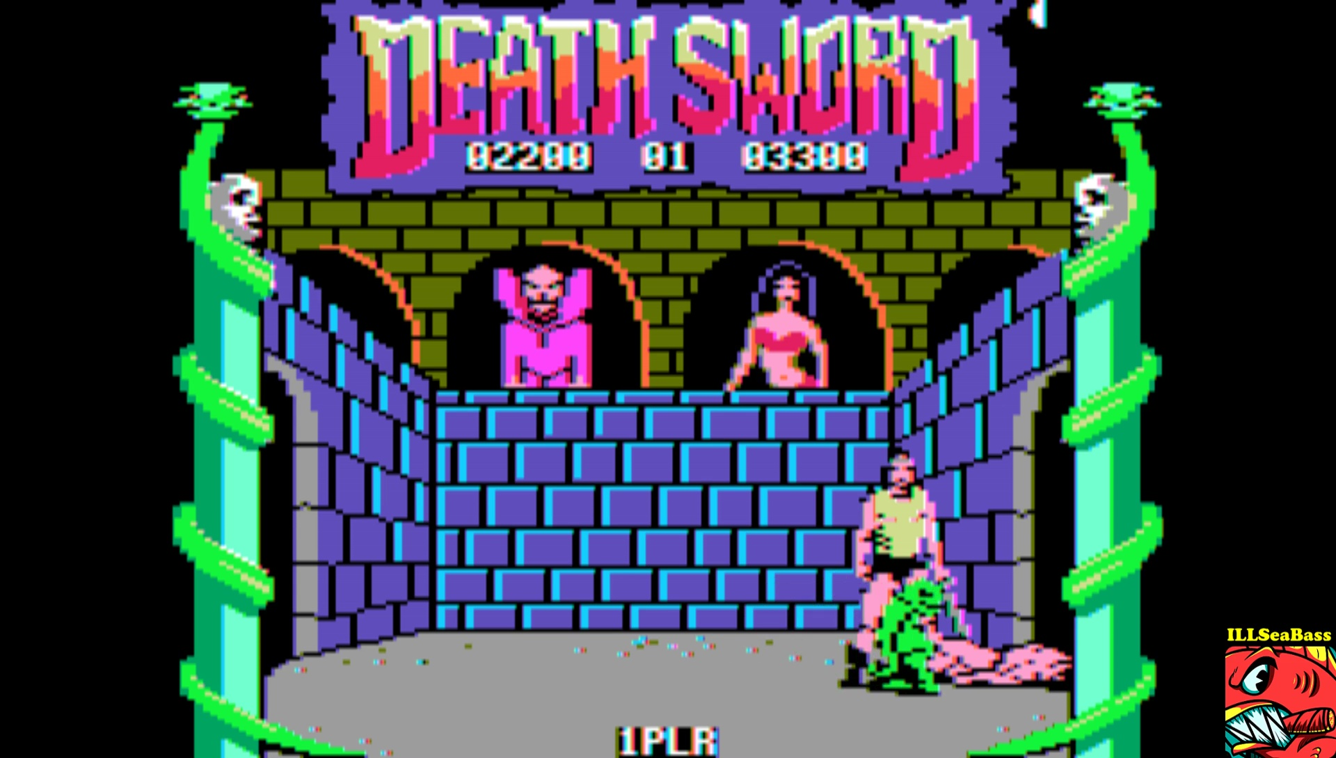 ILLSeaBass: Death Sword [Game 2] (Apple II Emulated) 2,200 points on 2017-03-17 20:56:00