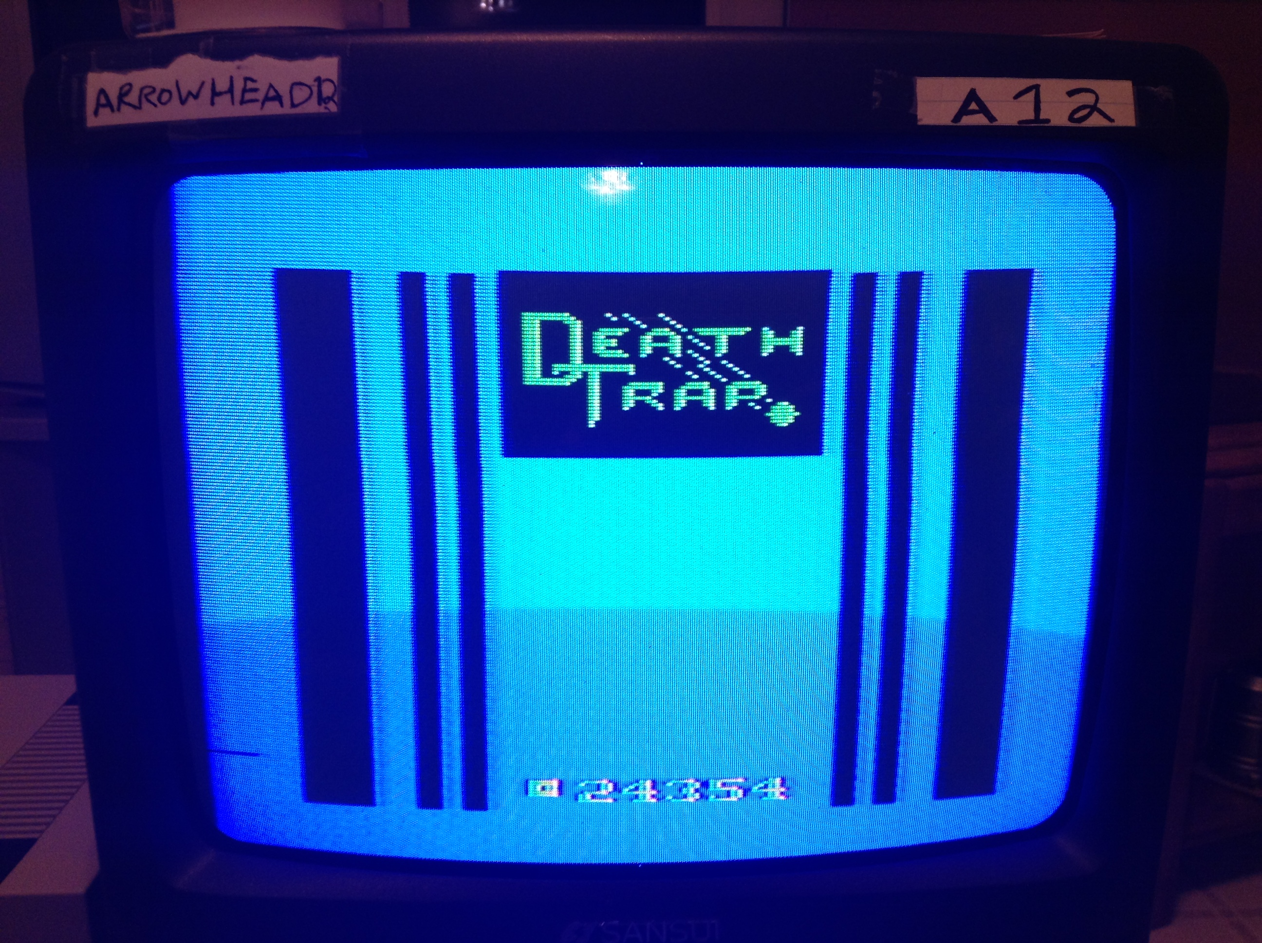 Arrowhead12: Death Trap: Easy (Atari 2600) 24,354 points on 2019-02-05 00:00:43