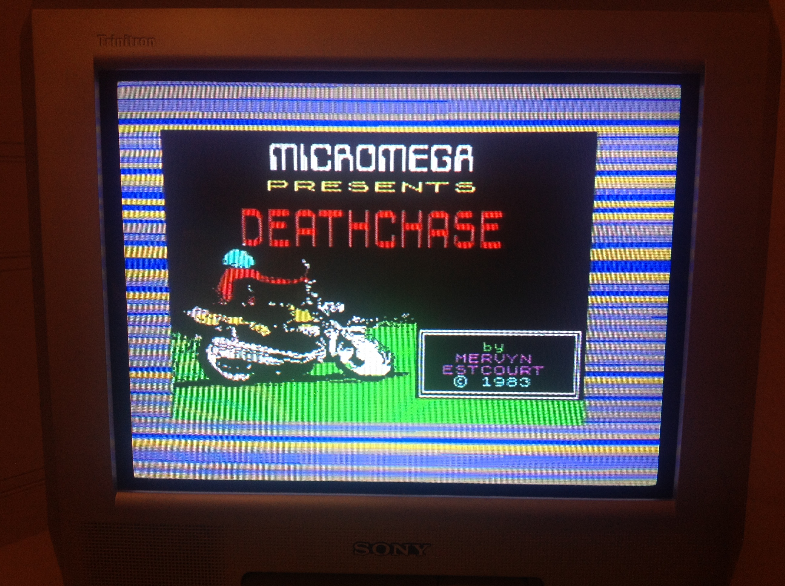 CoCoForest: Deathchase (ZX Spectrum) 33,801 points on 2016-01-05 10:59:07