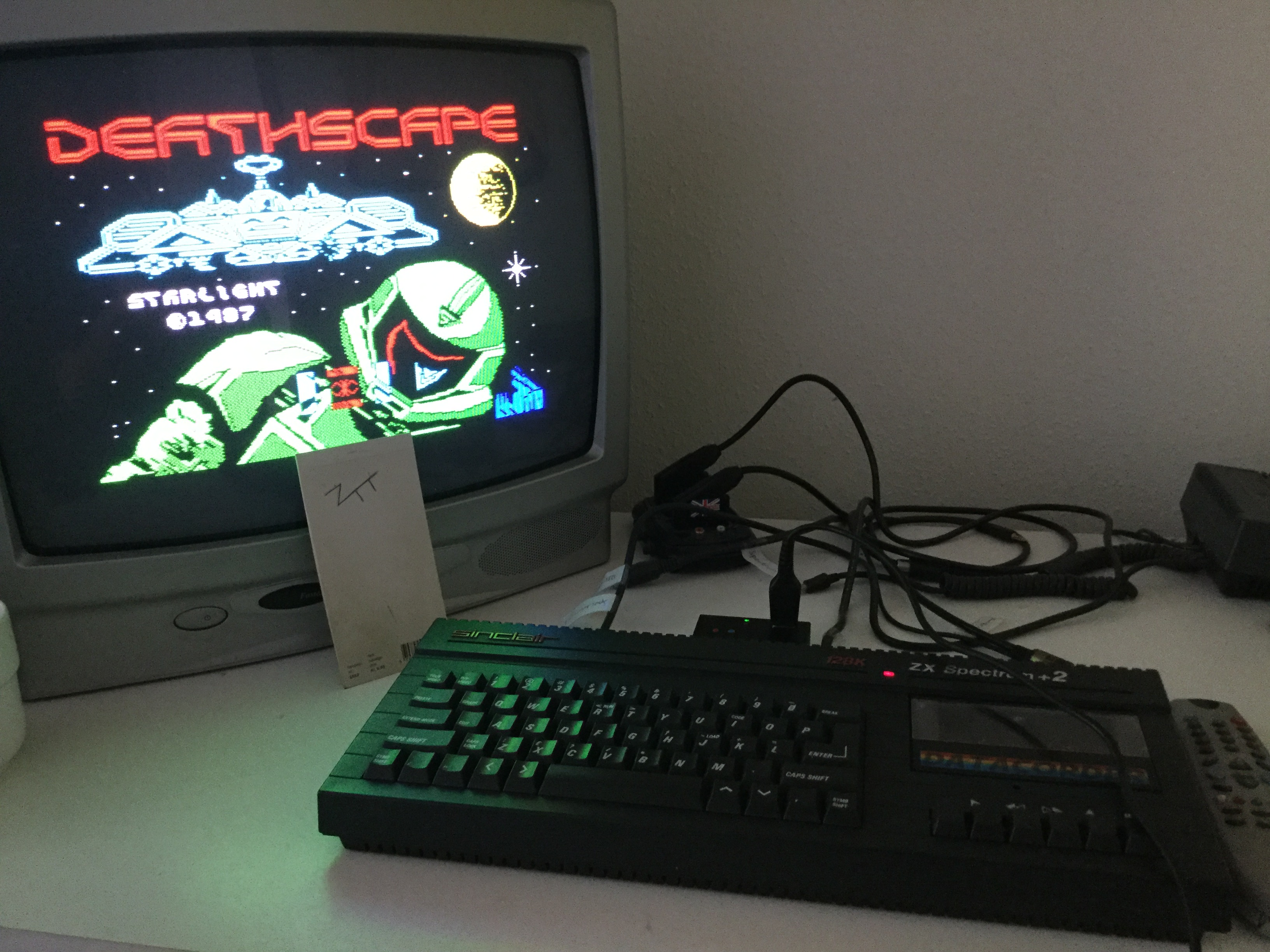 Frankie: Deathscape (ZX Spectrum) 3,900 points on 2019-06-17 12:06:20