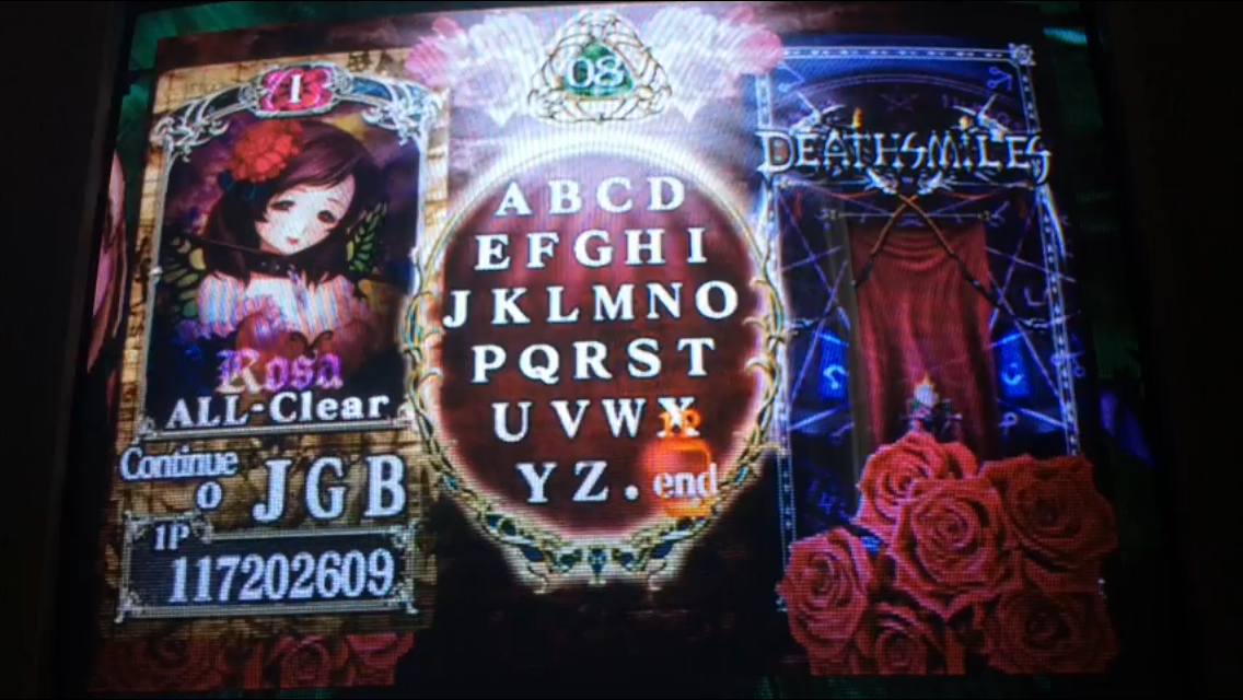 Deathsmiles: Xbox 360 Mode 117,202,609 points