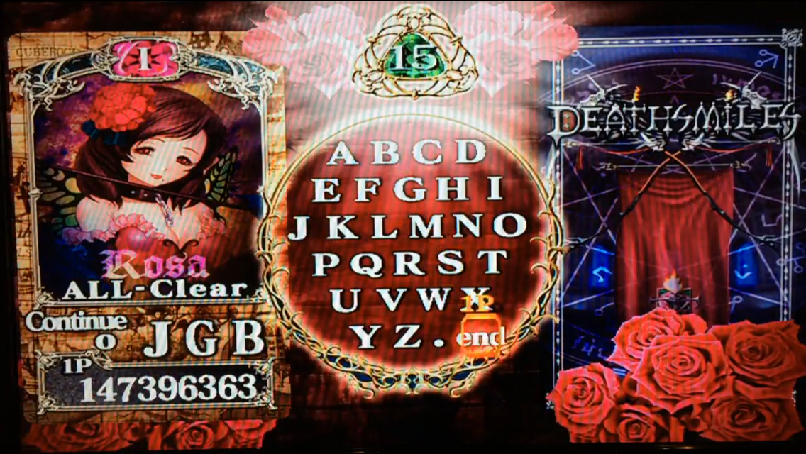 Deathsmiles: Xbox 360 Mode 147,396,363 points