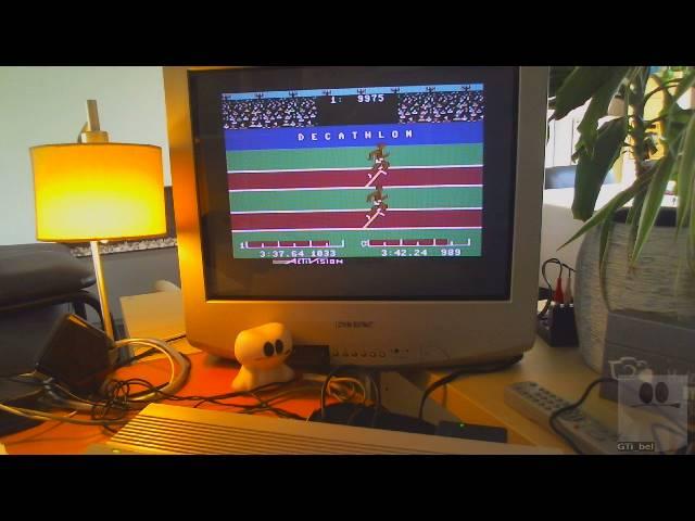 GTibel: Decathlon: 100m Dash (Commodore 64) 0:00:10.46 points on 2019-03-26 10:50:57