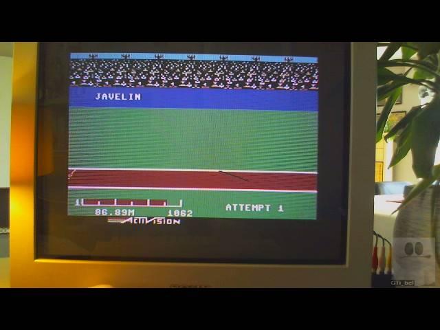 GTibel: Decathlon: Javelin [Meters] (Commodore 64) 8,689 points on 2019-03-26 11:12:57