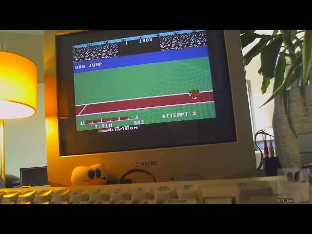 GTibel: Decathlon: Long Jump [Meters] (Commodore 64) 771 points on 2019-03-26 10:53:54