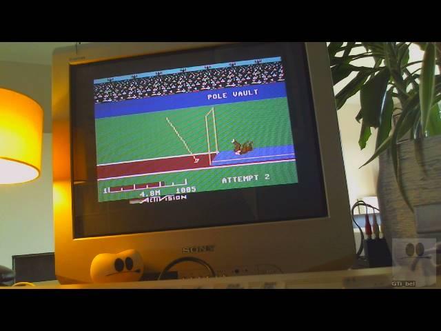 GTibel: Decathlon: Pole Vault [Meters] (Commodore 64) 48 points on 2019-03-26 11:11:39