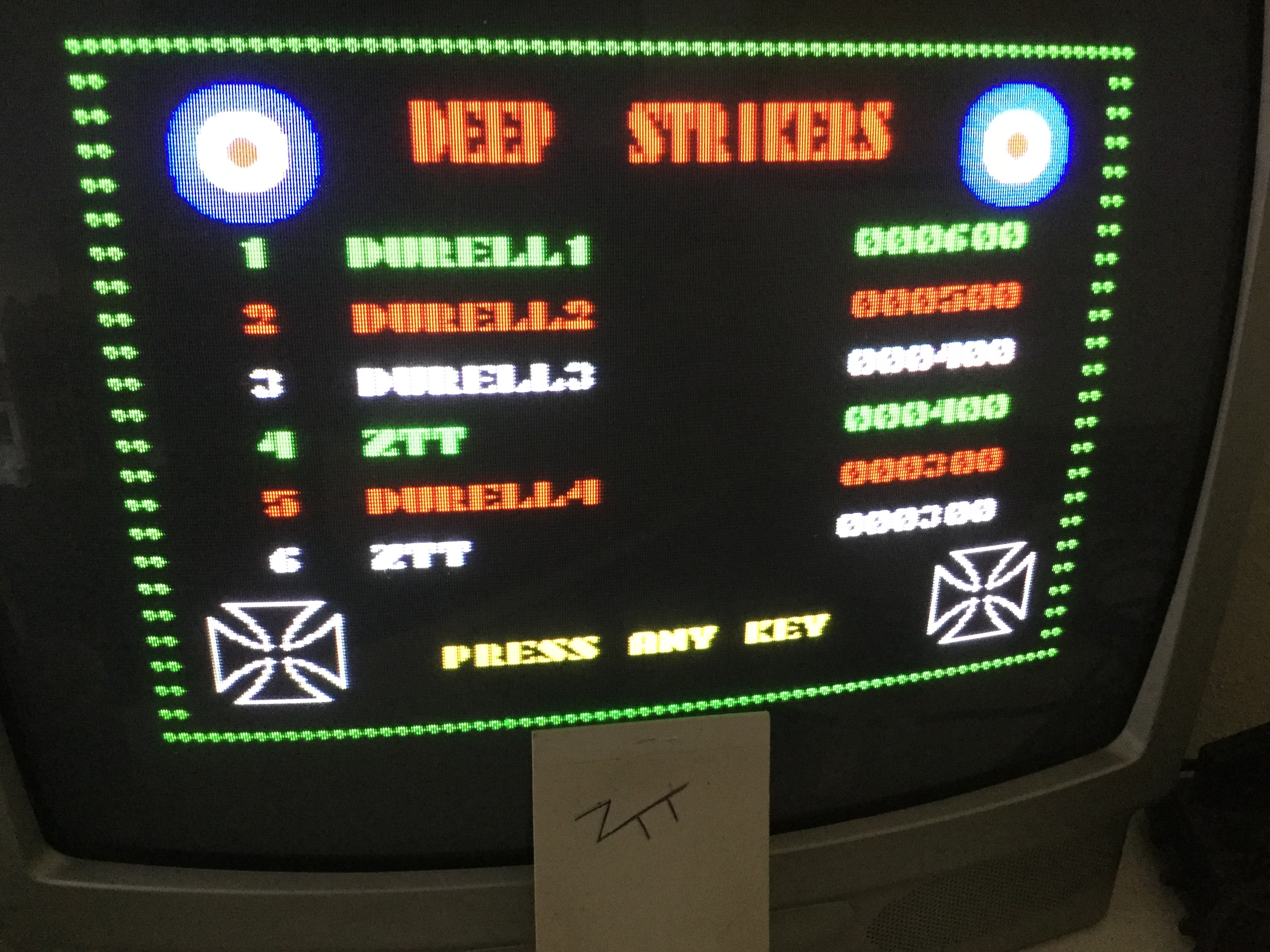 Frankie: Deep Strike [Skill: Easy] (ZX Spectrum) 400 points on 2019-06-18 12:02:25