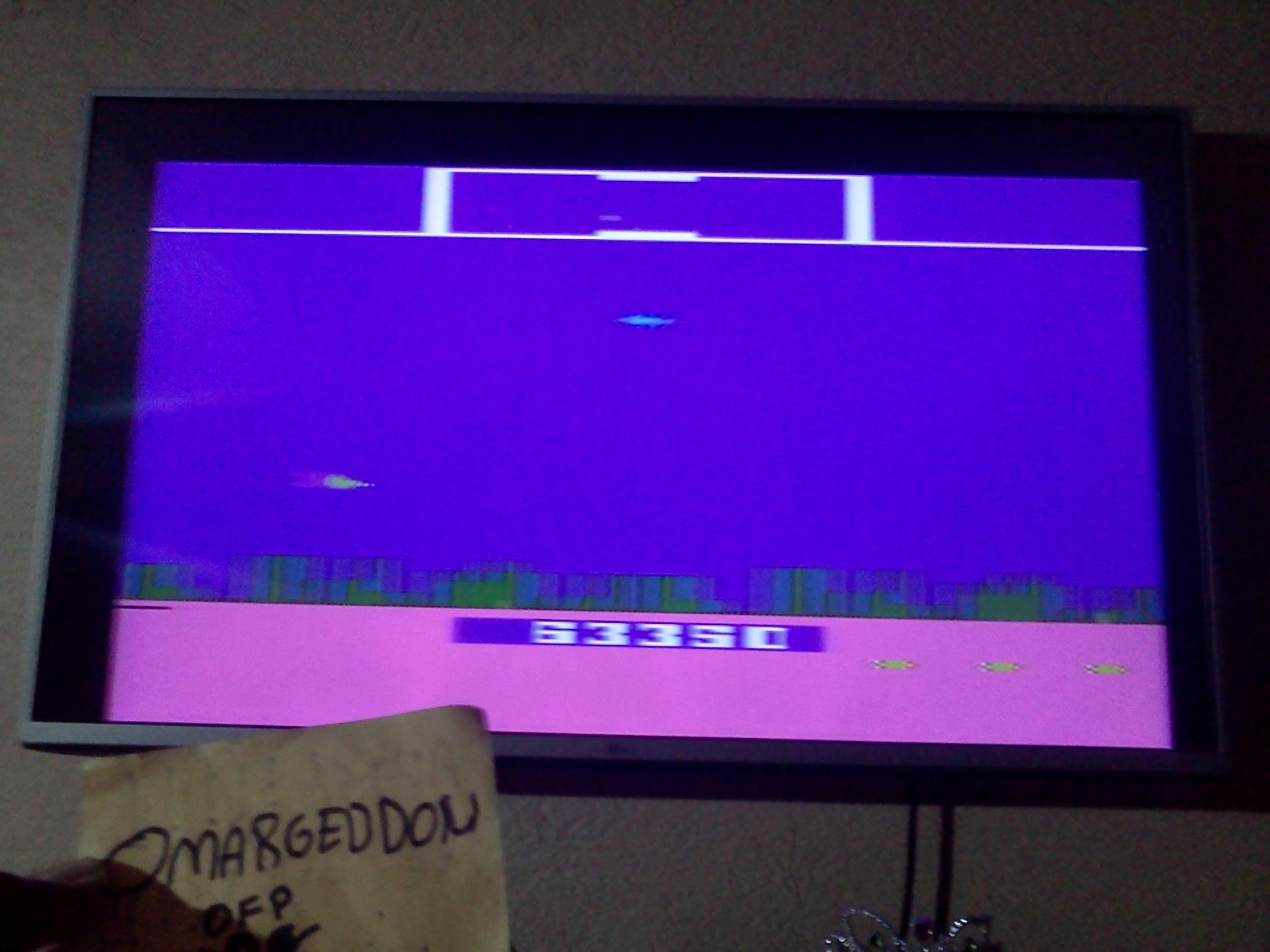 omargeddon: Defender (Atari 2600 Novice/B) 63,350 points on 2016-08-16 21:35:53