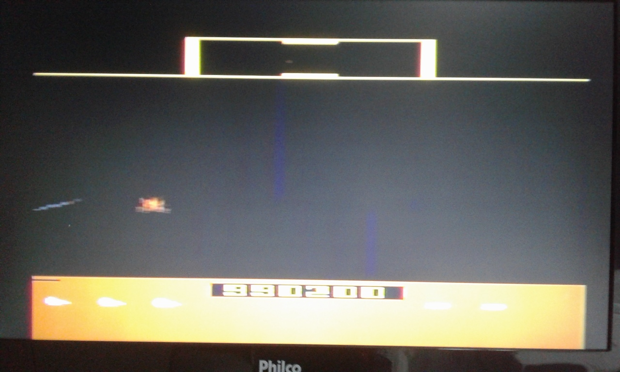 oyamafamily: Defender (Atari 2600 Novice/B) 1,055,000 points on 2017-05-15 18:14:09