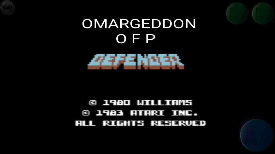 Defender [Atarisoft]: Novice 10,700 points