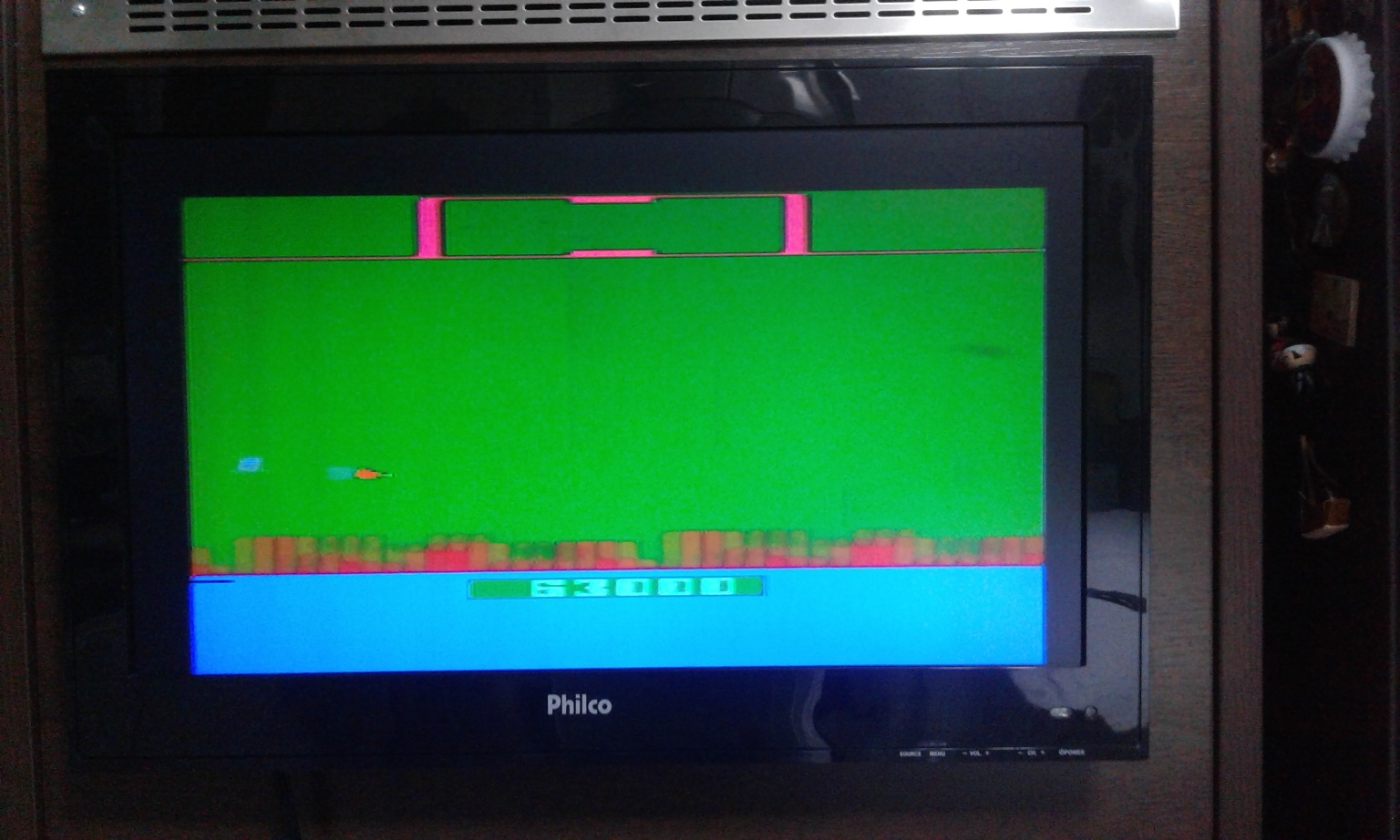 oyamafamily: Defender [Game 8] (Atari 2600 Novice/B) 63,000 points on 2017-01-08 04:35:18