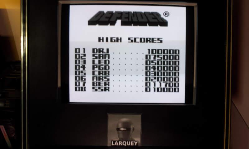Larquey: Defender (Game Boy Emulated) 11,700 points on 2018-11-02 13:24:27