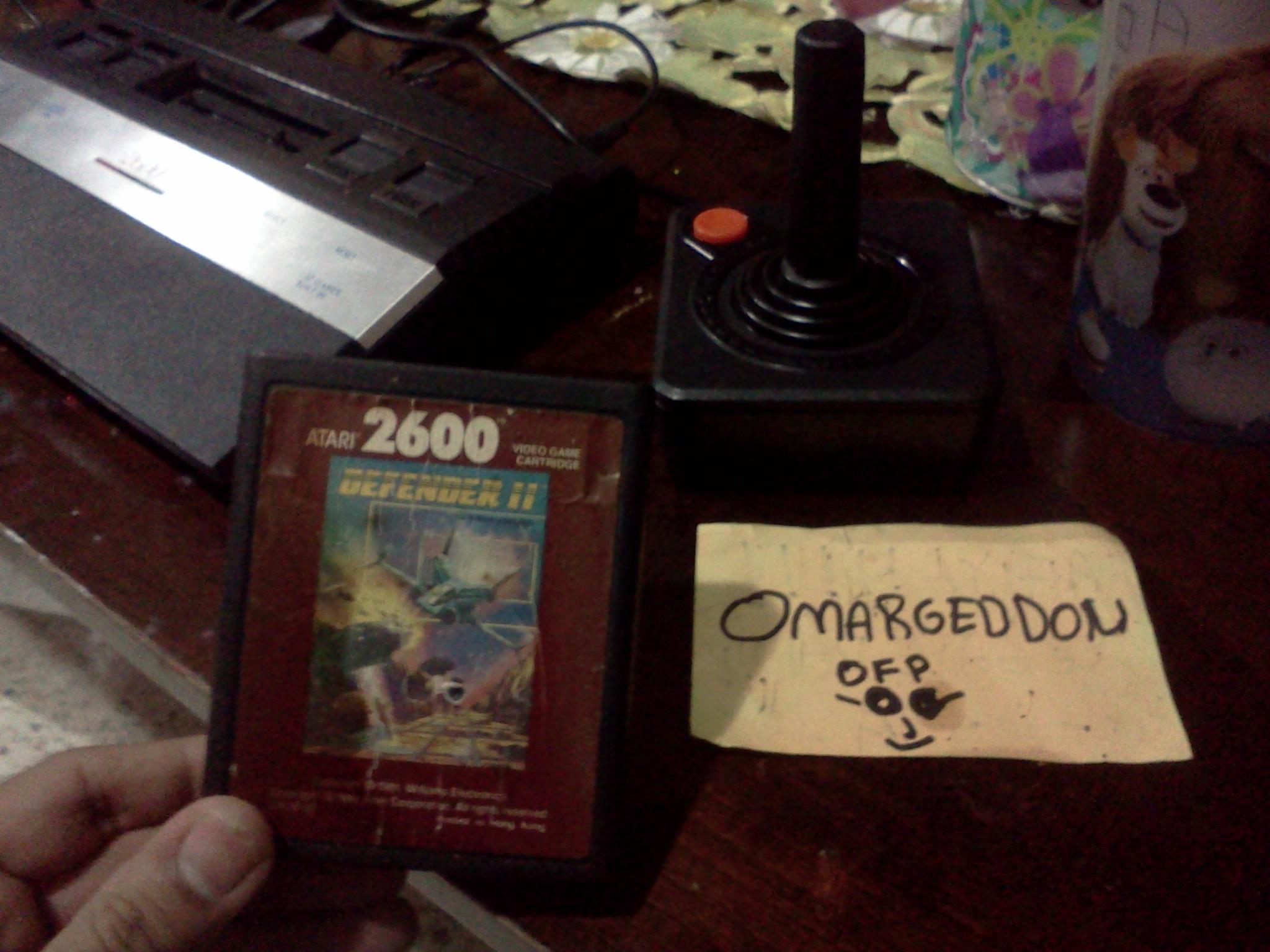 omargeddon: Defender II / Stargate (Atari 2600 Novice/B) 28,450 points on 2016-08-31 20:26:17