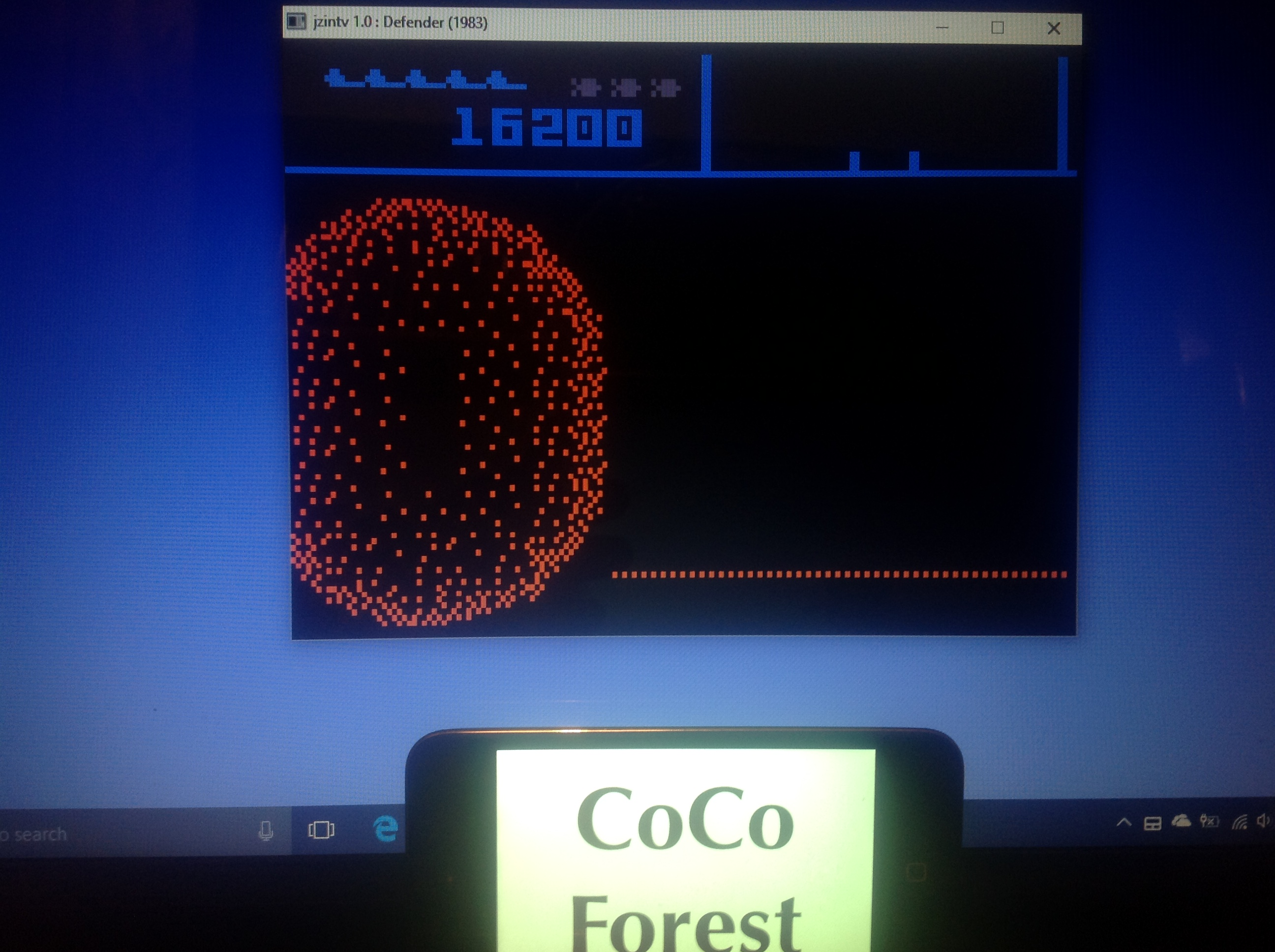 CoCoForest: Defender (Intellivision Emulated) 16,200 points on 2018-01-24 11:24:13