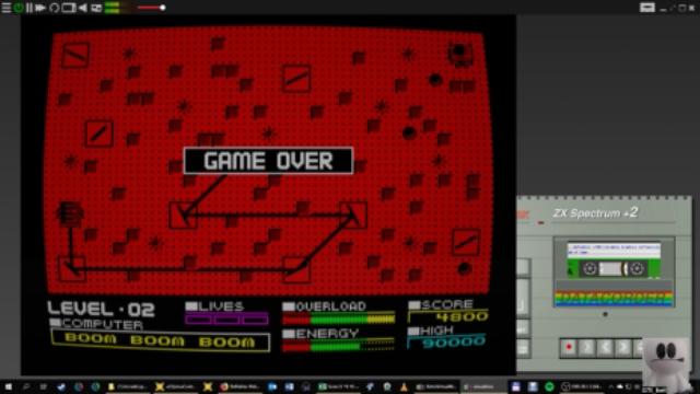 GTibel: Deflektor (ZX Spectrum Emulated) 4,800 points on 2019-01-15 10:50:25
