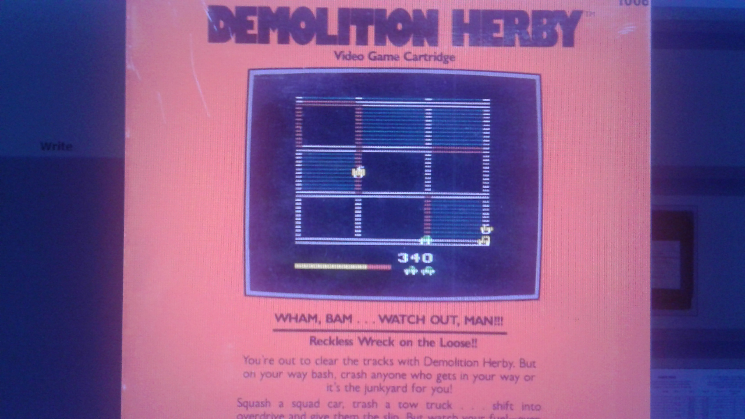 Mark: Demolition Herby (Atari 2600 Emulated) 16,568 points on 2019-03-12 23:45:44