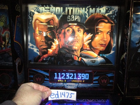ed1475: Demolition Man (Pinball: 3 Balls) 112,321,390 points on 2017-02-12 15:50:59