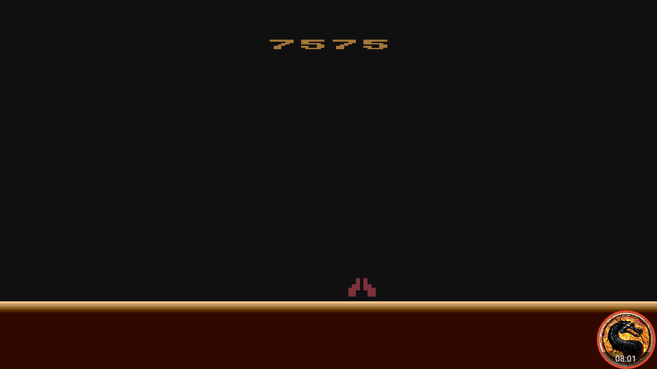 omargeddon: Demon Attack (Atari 400/800/XL/XE Emulated) 7,575 points on 2019-02-27 19:43:54