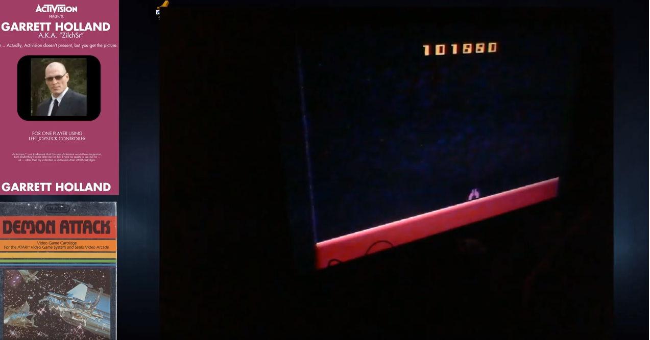 ZilchSr: Demon Attack: Game 5 (Atari 2600 Expert/A) 101,880 points on 2019-06-01 03:00:50
